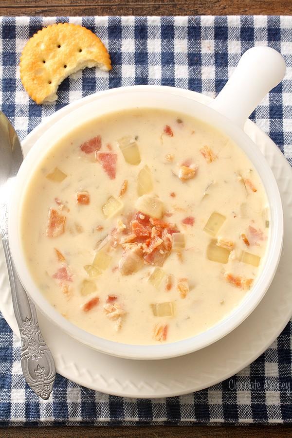 Creamy Onion Bacon Soup