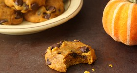 Soft and Spiced Pumpkin Chocolate Chip Cookies