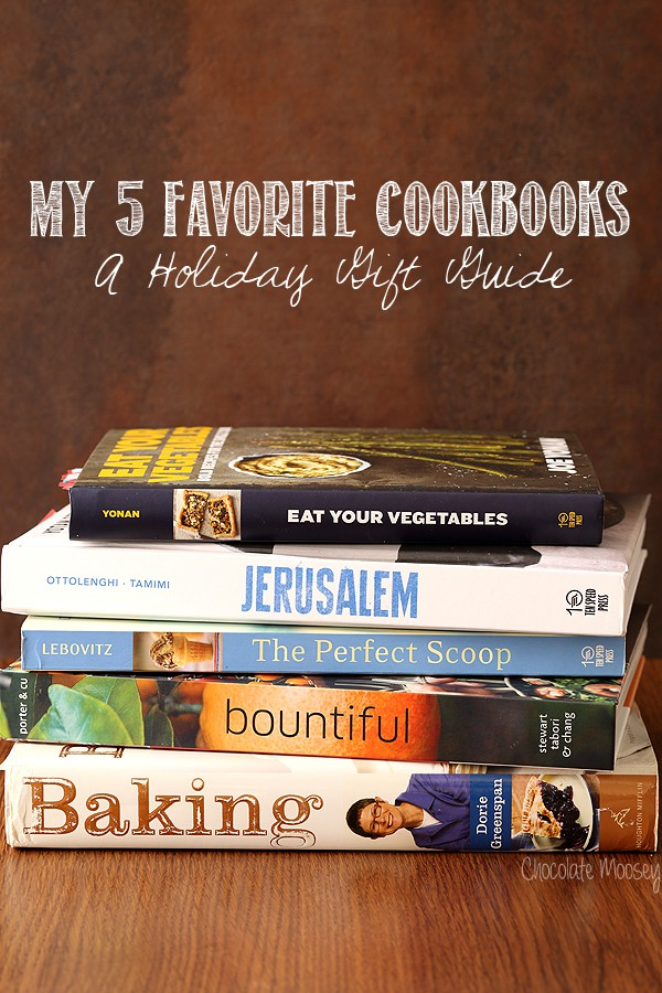 My  Favorite Cookbooks - A Holiday Gift Guide