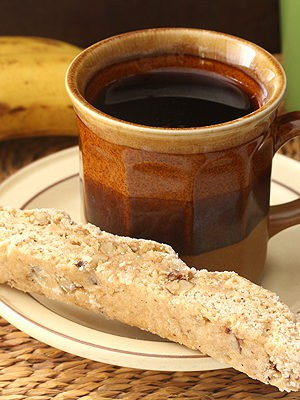 Banana Walnut Biscotti