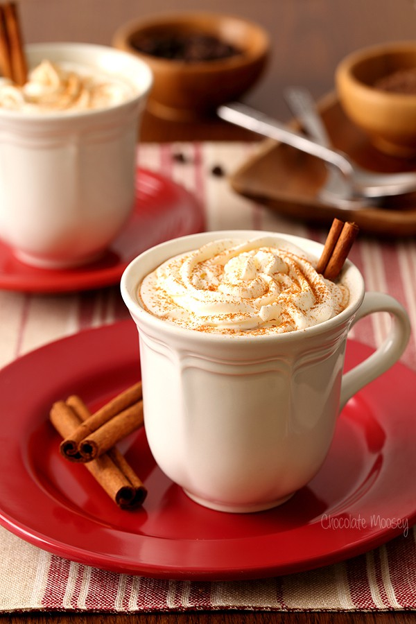 Mexican Spiced Mocha combining coffee, hot chocolate, cinnamon, and chili powder