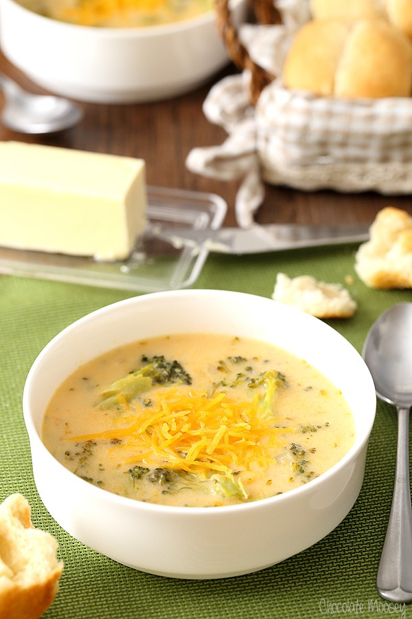 Homemade Broccoli Cheese Soup recipe