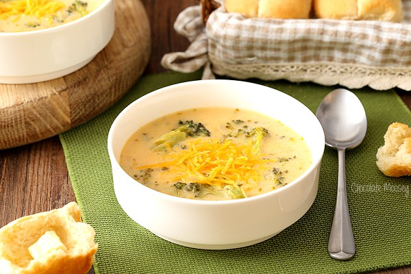 Homemade Broccoli Cheese Soup recipe