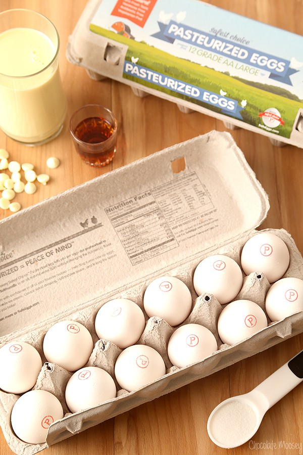 Davidson's Safest Choice Pasteurized Eggs for baking