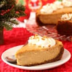 Gingerbread Cheesecake for Christmas baking