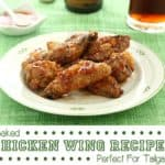 5 Baked Chicken Wing Recipes For Tailgating Parties