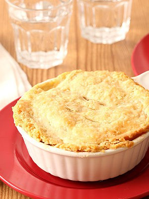 Chicken Pot Pie For Two In Ramekins
