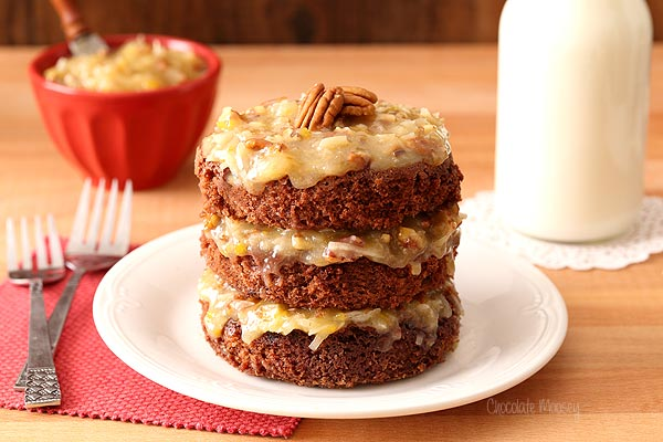 someone how much you care by baking up this Mini German Chocolate Cake ...
