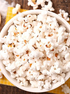 Salt and Vinegar Popcorn using only 3 ingredients