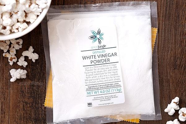 Vinegar Powder for Salt and Vinegar Popcorn