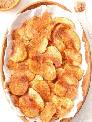 Basket of Barbecue Chips