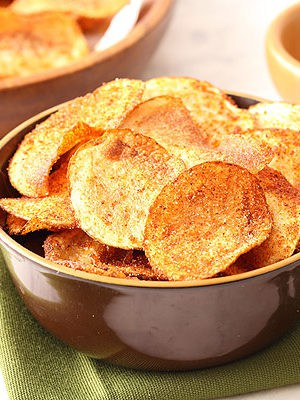 Homemade Barbecue Potato Chips