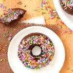 Triple Chocolate Baked Doughnuts for the chocolate lover in you