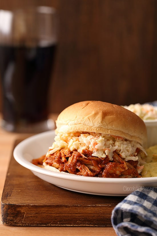 cooker? No problem! These BBQ pulled pork sandwiches with coleslaw ...