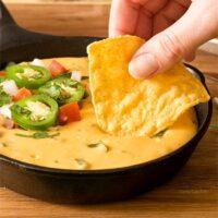 Small Batch Queso (Nacho Cheese Dip)