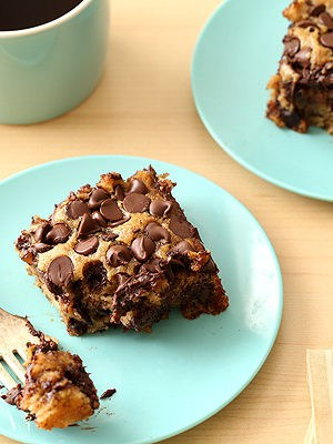 Banana Chocolate Chip Snack Cake (Vegan, Egg Free, Dairy Free)