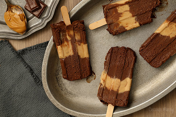 No Bake Chocolate Peanut Butter Bars | Chocolate Moosey
