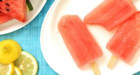 Watermelon Lemonade Margarita Popsicles for summer