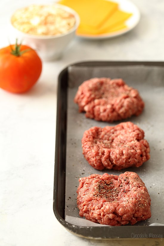 Making Hamburger Patties for The Pittsburger