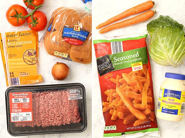 Making The Pittsburger with ALDI Groceries