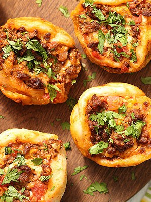 Taco Pizza Roll Ups