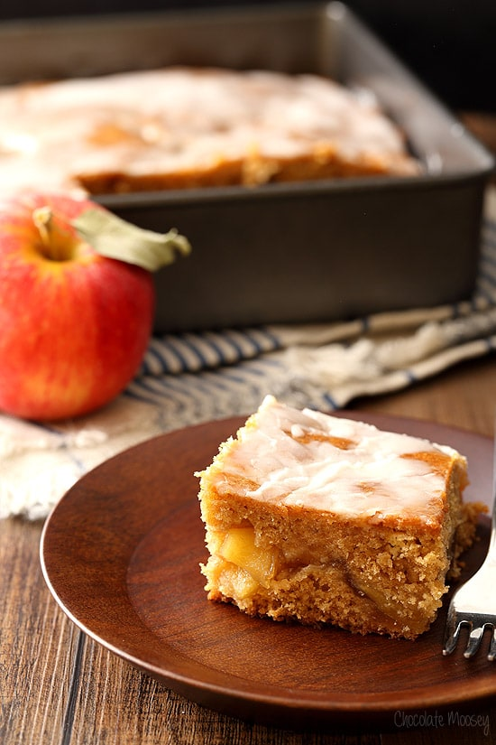 Apple Fritter Cake With Pie Filling