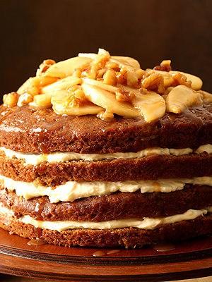 Caramel Apple Butter Layer Cake