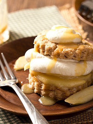 Caramel Apple Shortcakes (Small Batch)