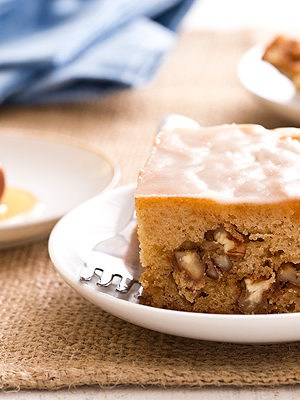Honey Nut Snack Cake