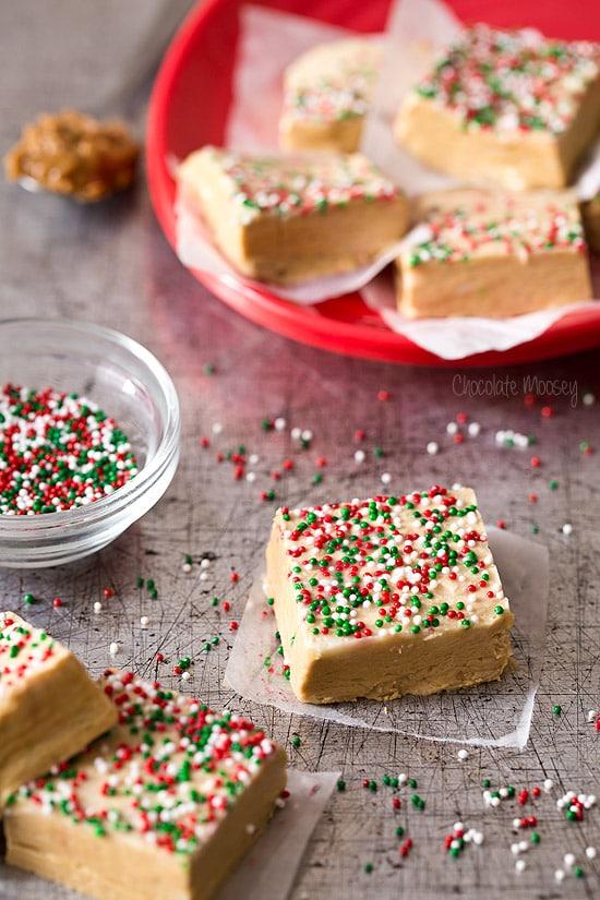 Gingerbread Fudge for Christmas