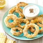 Za'atar Baked Onion Rings