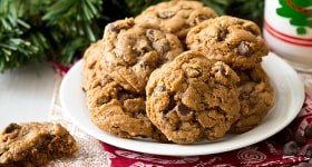 Gingerbread Chocolate Chip Cookies