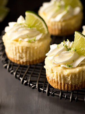 Mini Margarita Cheesecakes (Small Batch)