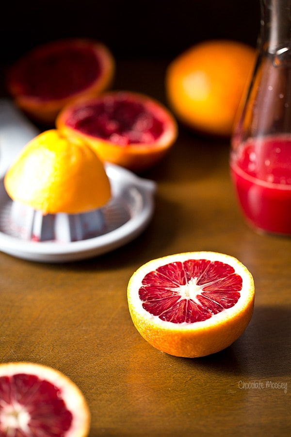 Blood Oranges For Mimosas