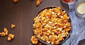 Buffalo Ranch Caramel Popcorn