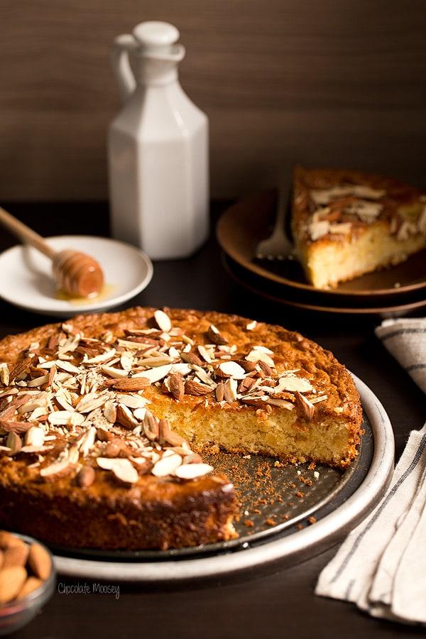Vanilla Honey Almond Cake