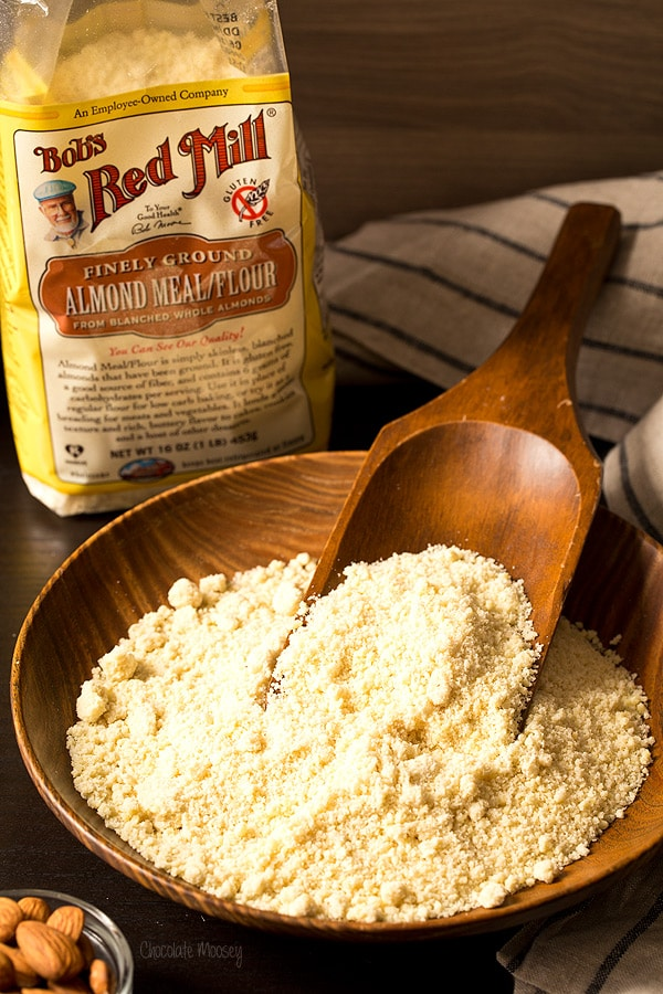 Almond flour for Vanilla Honey Almond Cake