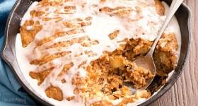 Carrot Cake Skillet Cake