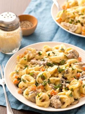 Portobello Mushroom Cheese Tortellini