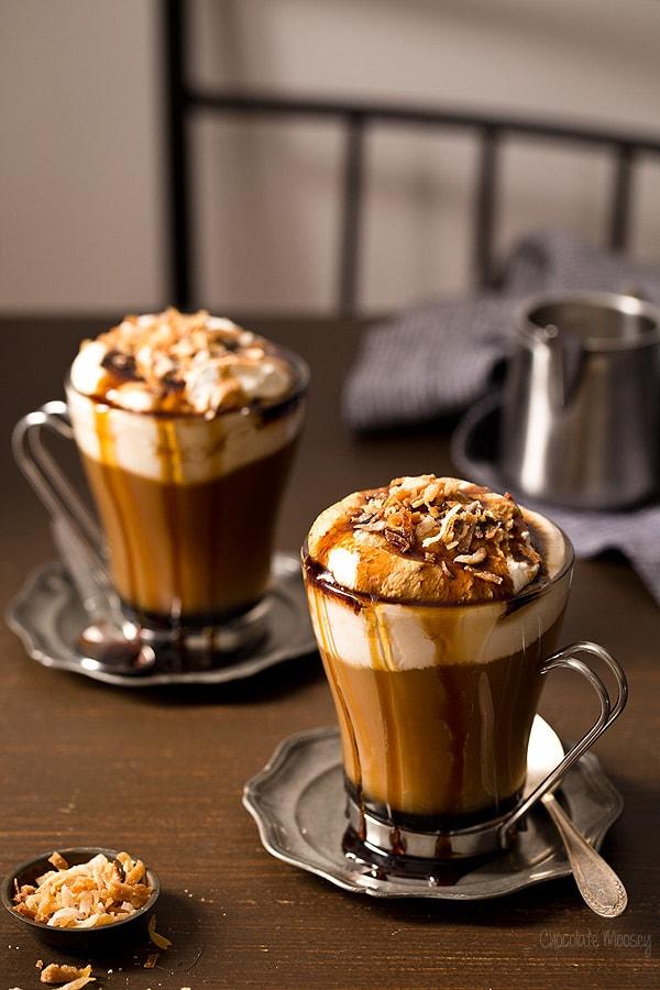 Toasted Coconut Mocha - Chocolate Moosey