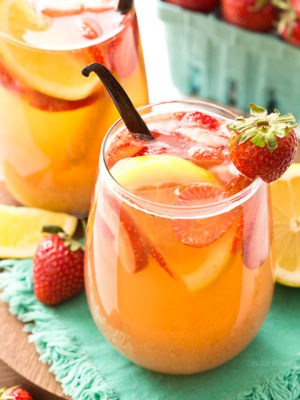 Strawberry Vanilla Sangria