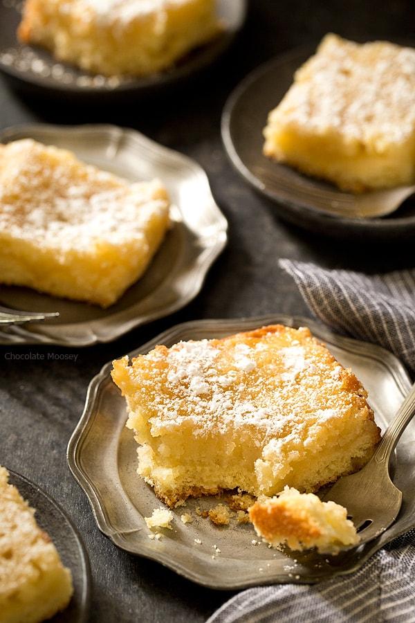 Gooey Butter Cake Recipe Gooey Louie