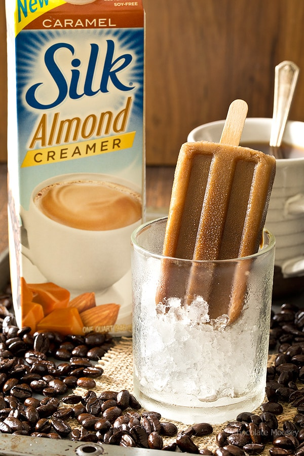 Get your summer caffeine fix with these 3 ingredient Caramel Latte Pops. Eat one on the go or as an afternoon snack.
