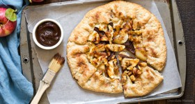 Apple Butter Galette