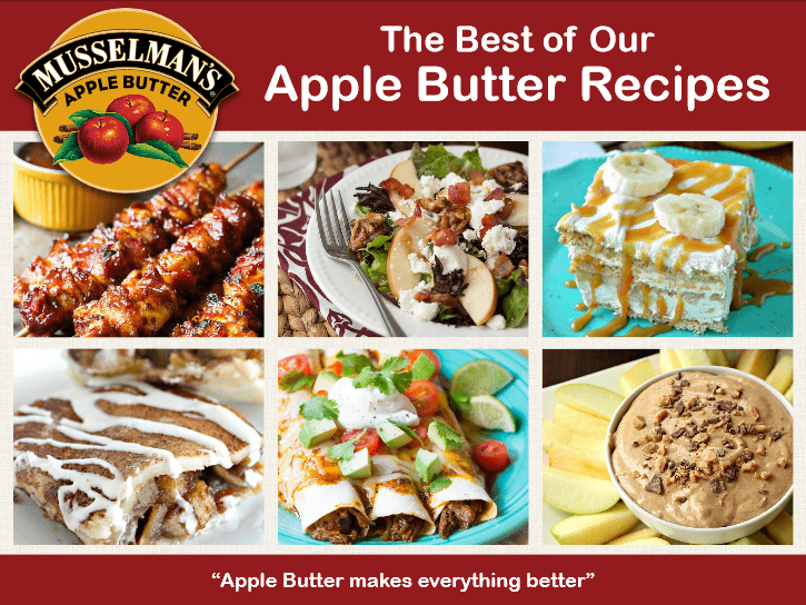 Apple Butter Recipe Ebook Cover