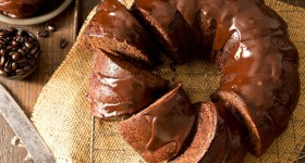 Chocolate Mocha Pumpkin Bundt Cake