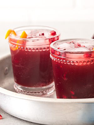 Sparkling Pomegranate Punch (Small Batch)