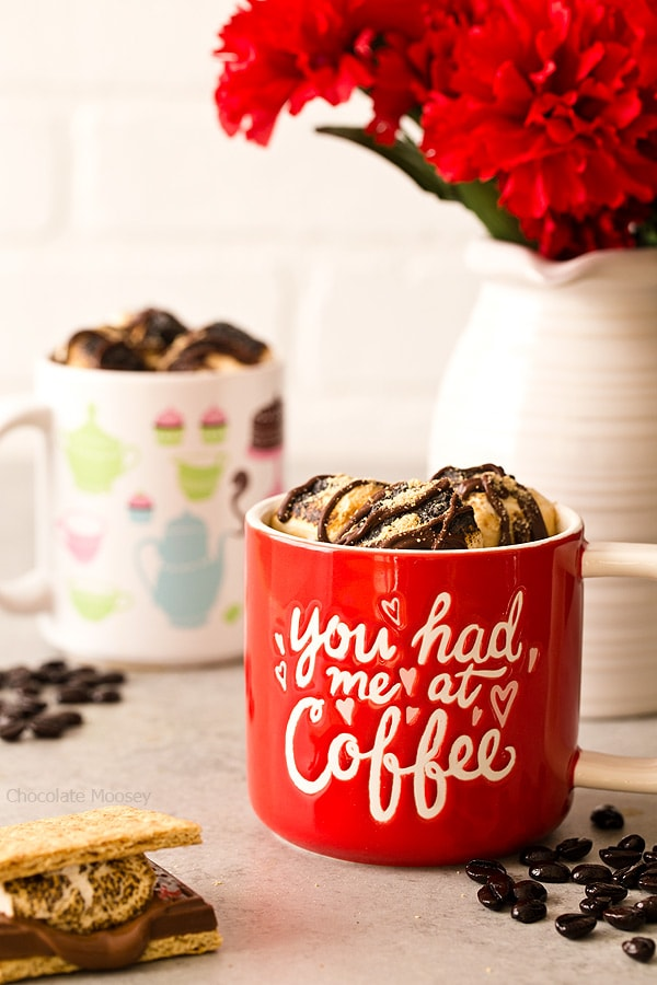 Have a coffee date at home with S'mores Hot Mocha with chocolate and toasted marshmallows melted directly into the coffee.