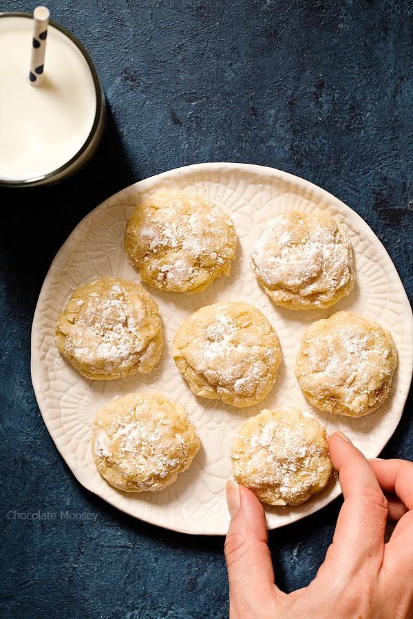 Peanut Butter Gooey Butter Cookies From Scratch