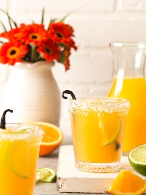 Orange Vanilla Margaritas (Small Batch)
